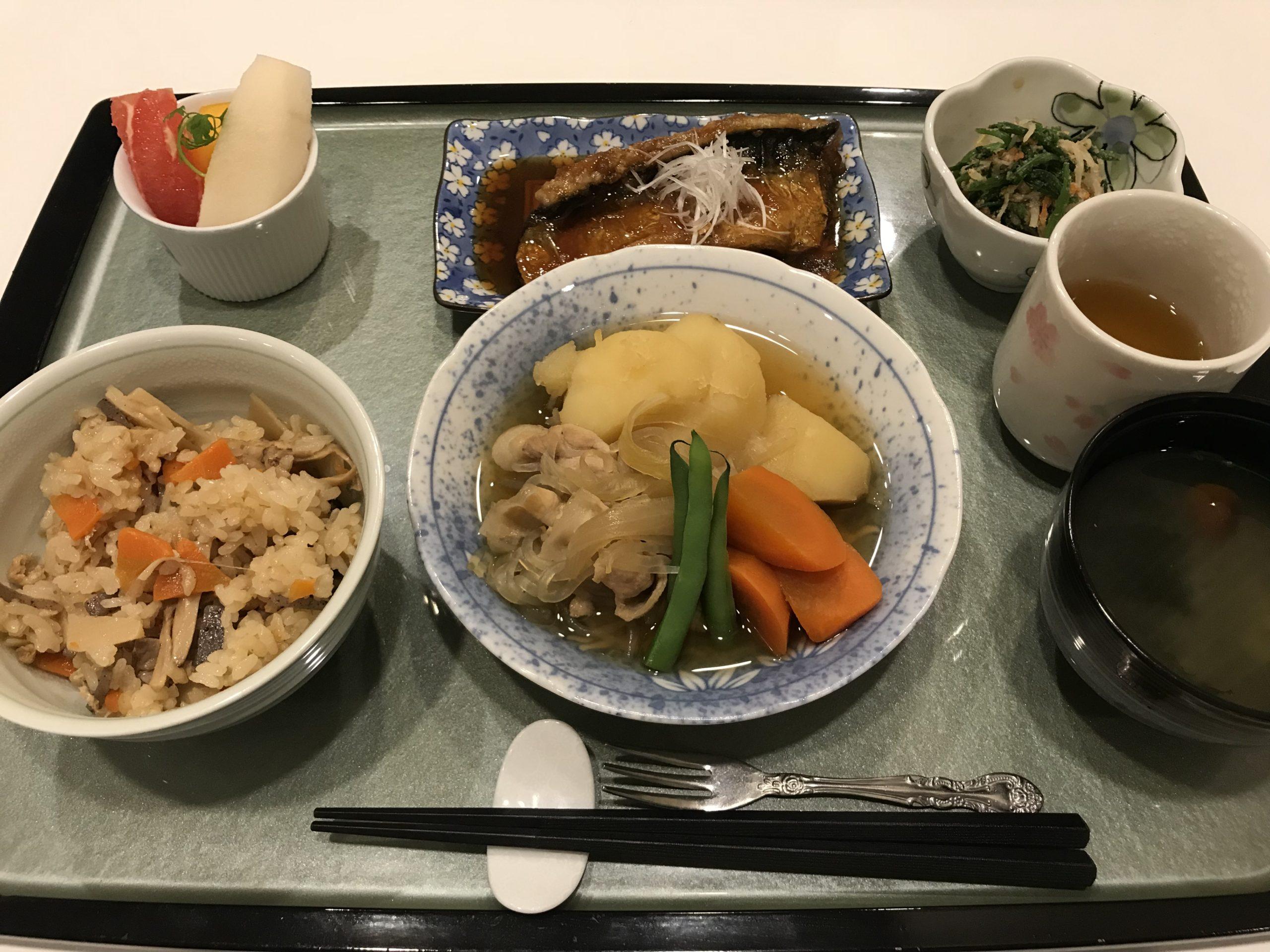 加塚医院のお食事